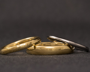 Wash- Gold Wedding Bands